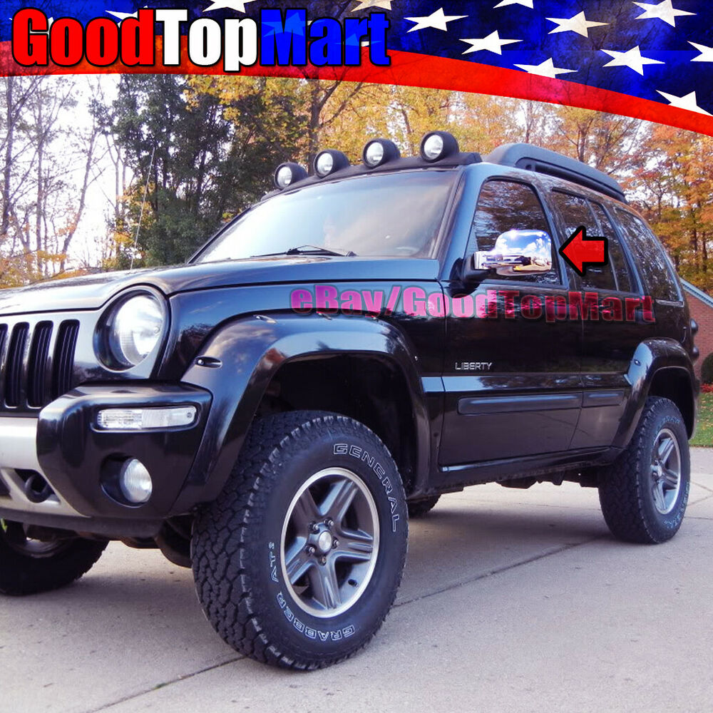 For Jeep LIBERTY 2002 2003 2004 2005 2006 2007 Chrome 2