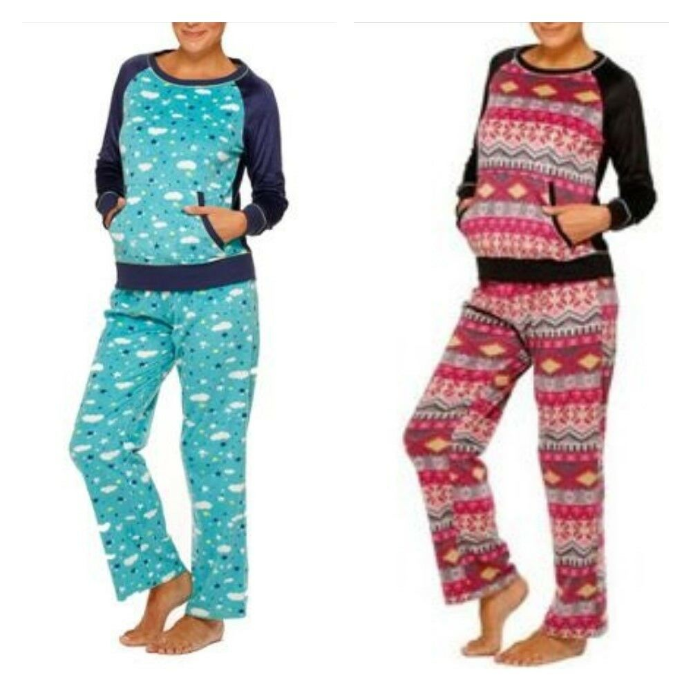 Perfect Womens Long Sleeve Long Pant Soft Pajama Set By CTM