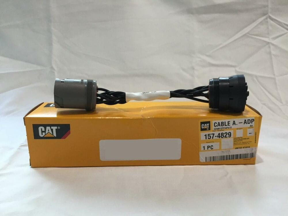 157 4829 Cat Adapter Cable For Cat Comm Iii 12v To 24v