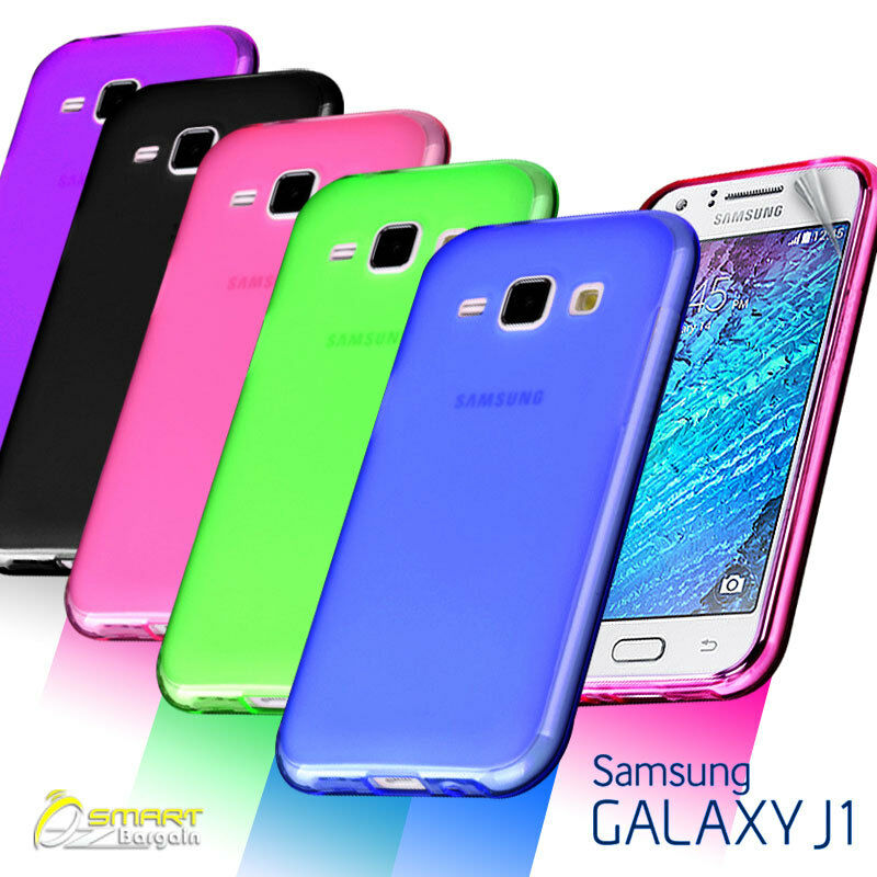Matte Gel Case Cover For Samsung Galaxy J1 J100Y Frosted