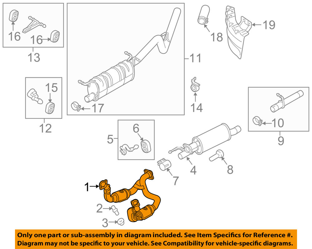 FORD OEM 1116    F      350    Super Duty 62LV8Catalytic