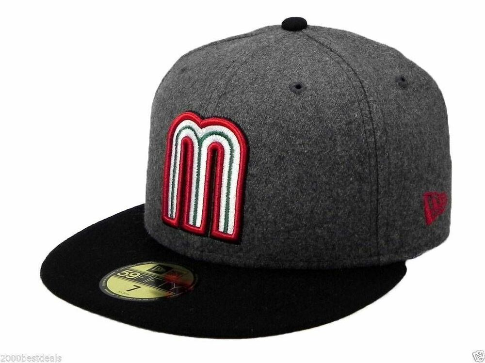 new era 59fifty cap mexico world baseball classic viscose. Black Bedroom Furniture Sets. Home Design Ideas