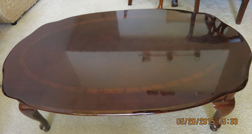 Queen anne coffee table living room priced to sell ebay for Coffee tables on ebay