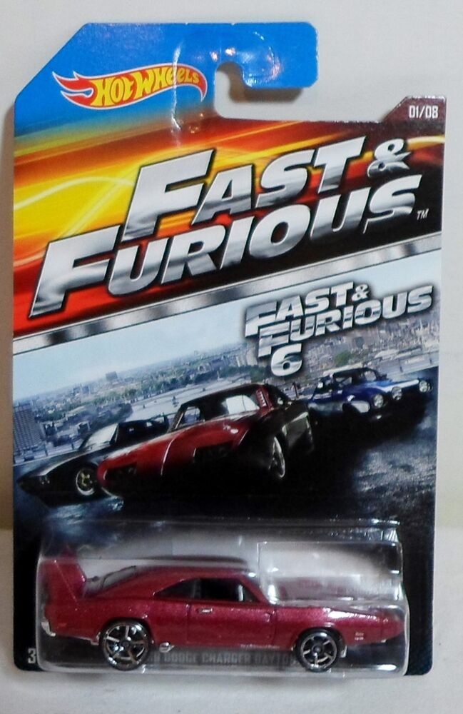 Hot Wheels 2014 Fast Amp Furious 6 69 Dodge Charger