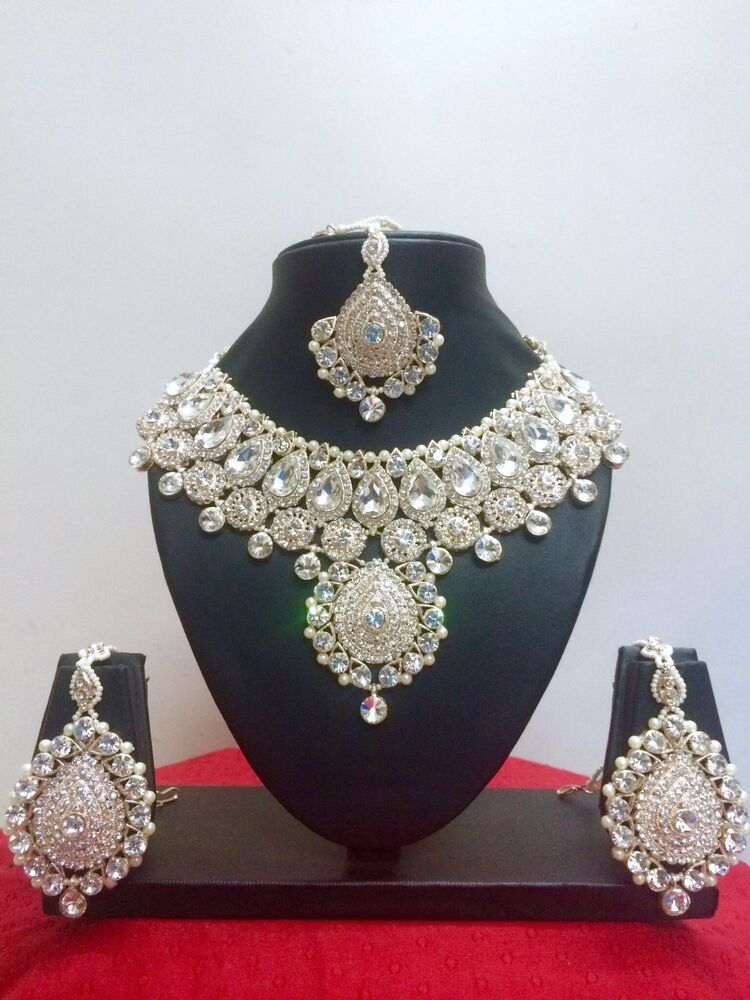 Indian Bollywood Style Rose Gold Plated Fashion Jewelry