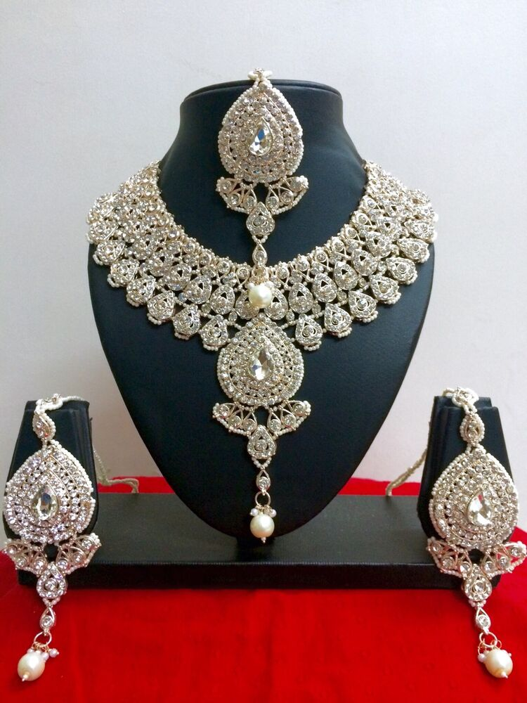 Indian Bollywood Style Designer Rose Gold Plated Fashion