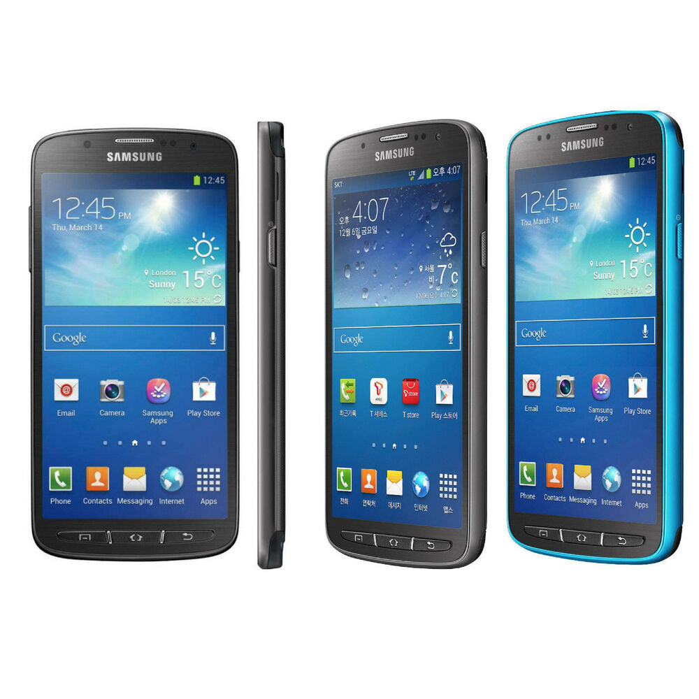 samsung galaxy s4 active sgh i537 unlocked 16gb at t. Black Bedroom Furniture Sets. Home Design Ideas