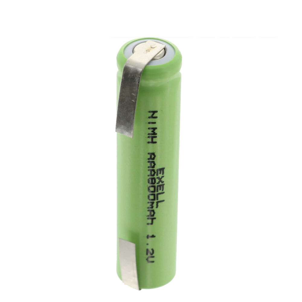 exell aaa size 1 2v 750mah nimh rechargeable battery cell with tabs usa ship ebay. Black Bedroom Furniture Sets. Home Design Ideas
