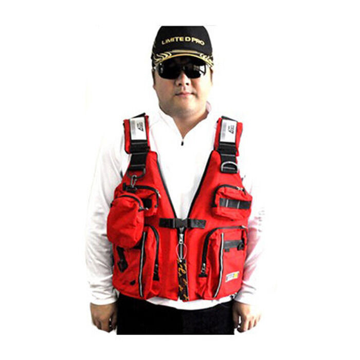 Safety adult sailing swimwear fishing kayak canoeing life for Kayak fishing vest