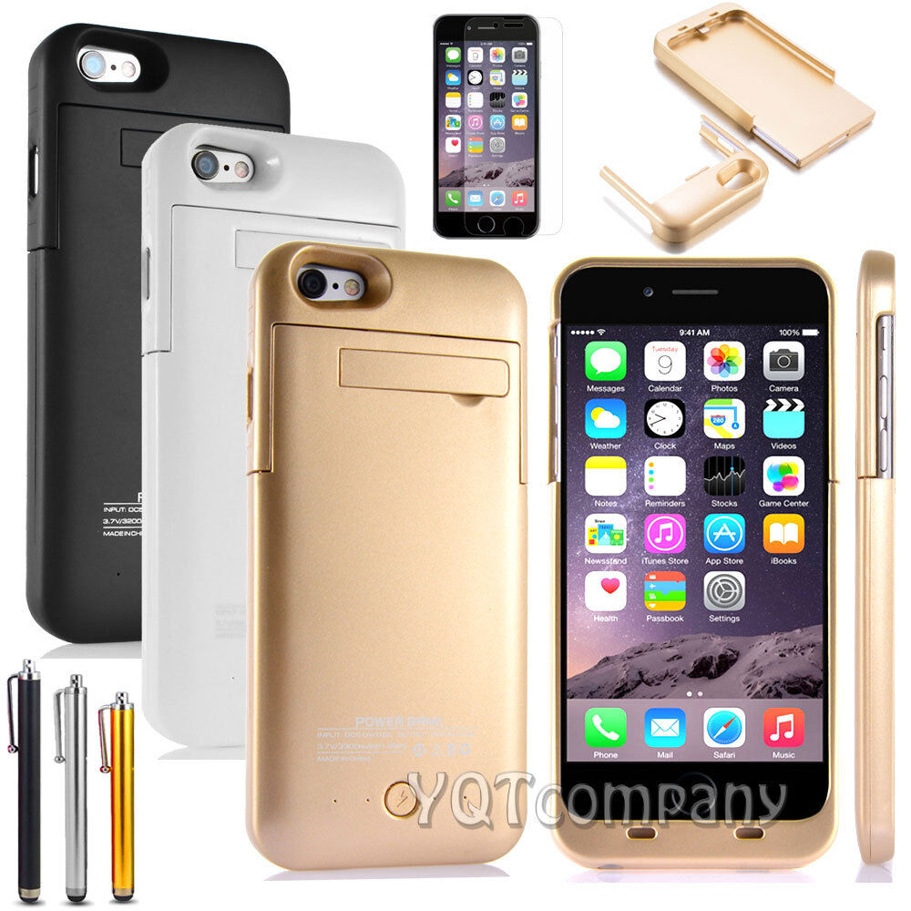 iphone 6 charging case 3200mah portable charger phone charging external 1398
