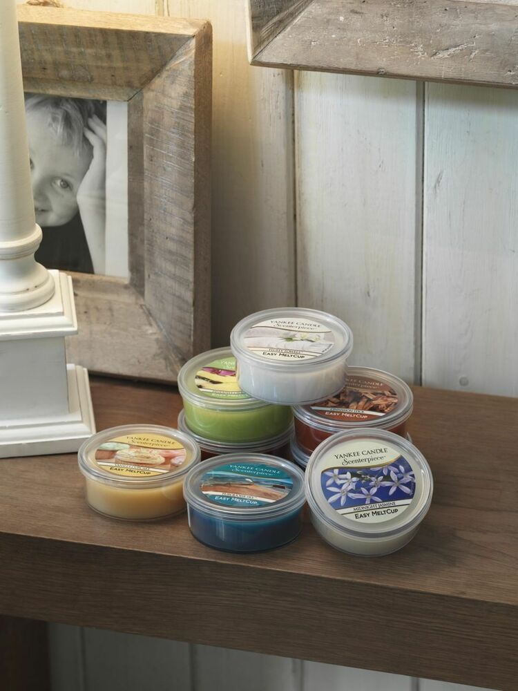 Yankee candle scenterpiece wax melt cup refills all uk