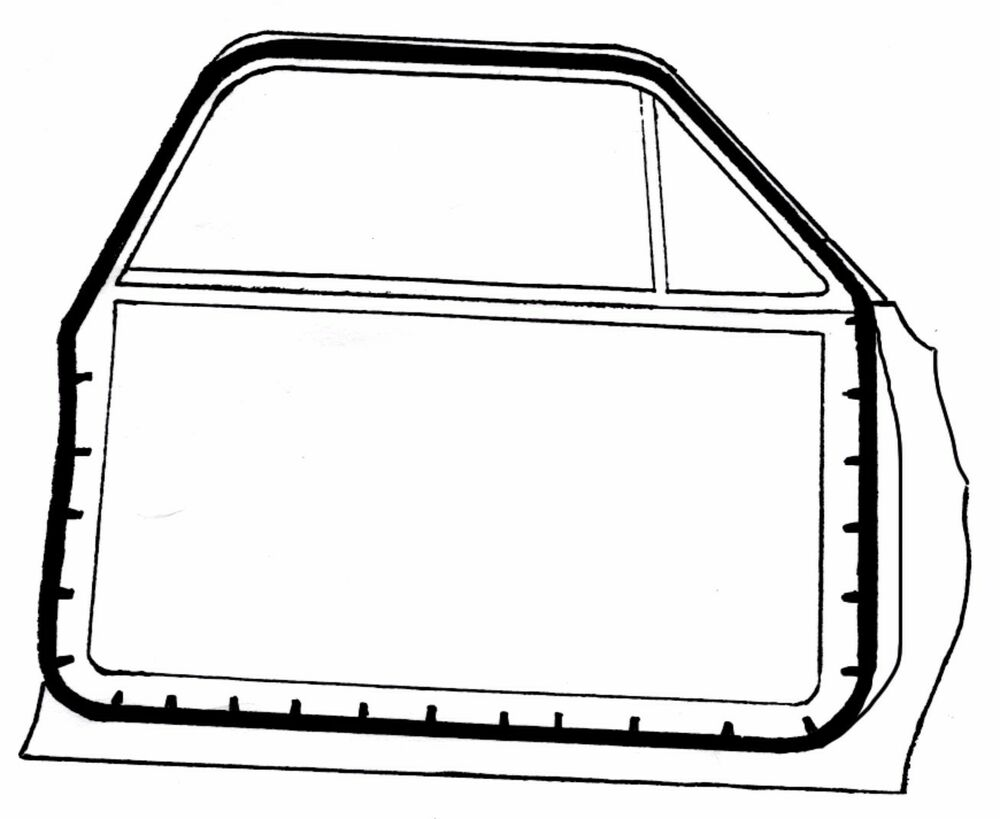 ford falcon door seals