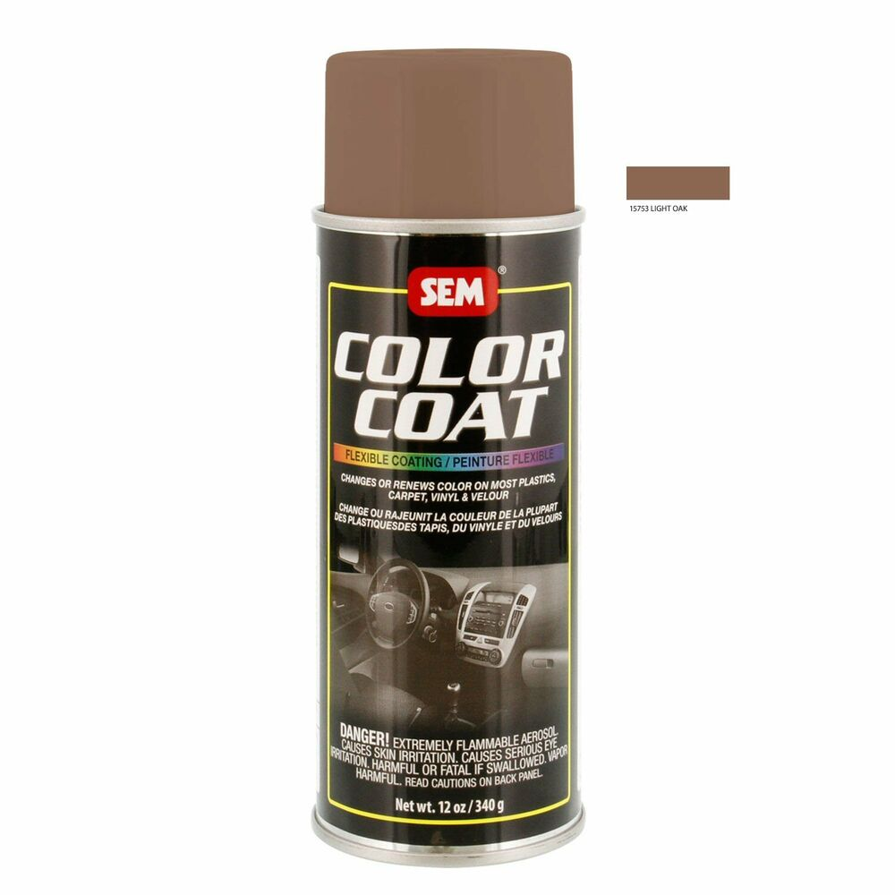coat system 15753 light oak aerosol vinyl spray paint 12oz can ebay. Black Bedroom Furniture Sets. Home Design Ideas