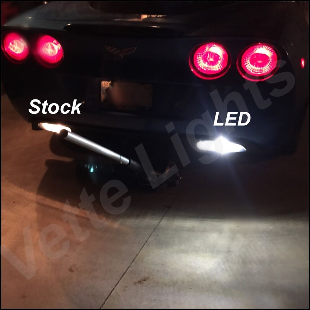 Hid Light Bulbs >> 2005-2013 c6 Corvette LED Reverse Lights - BRIGHTEST AVAILABLE!! | eBay