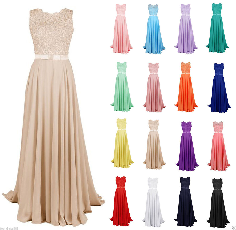 STOCK Plus New Full Lace Prom Ball Evening Gown Party