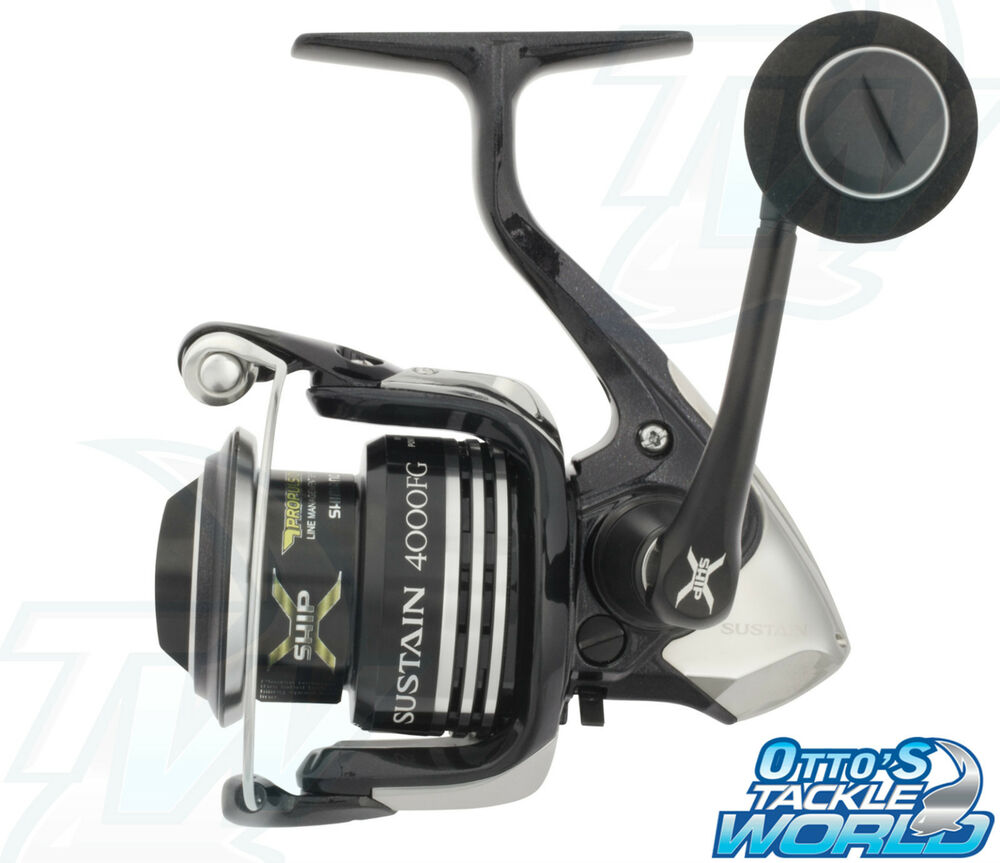 Shimano sustain 4000fg spinning fishing reel brand new at for Ebay fishing reels shimano