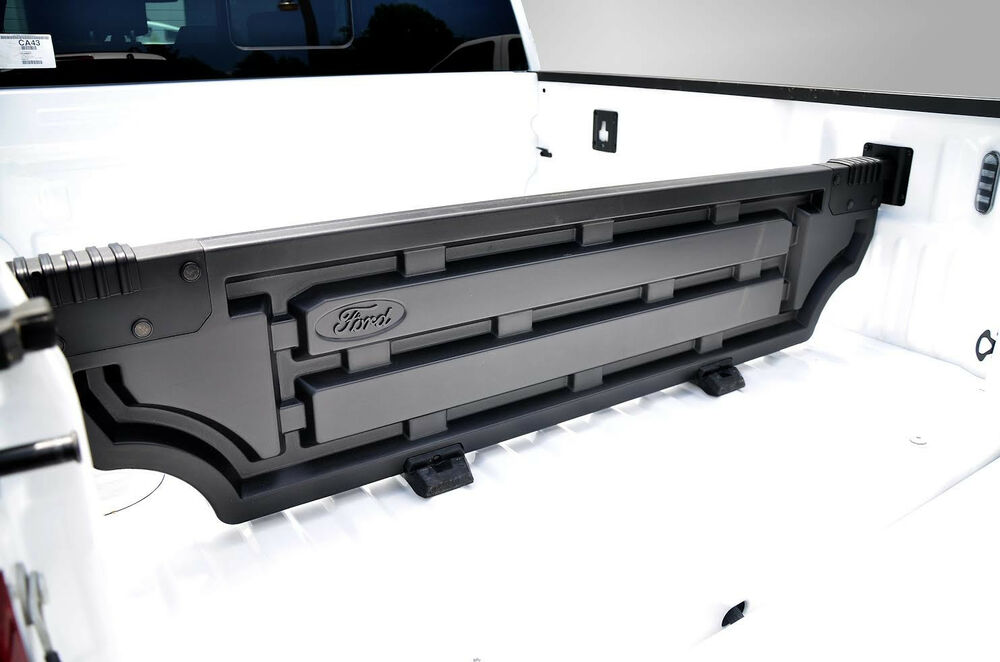 OEM NEW 15-18 Ford F-150 ABS Moulded Bed Divider- Pickup Cargo Hauling Partition | eBay
