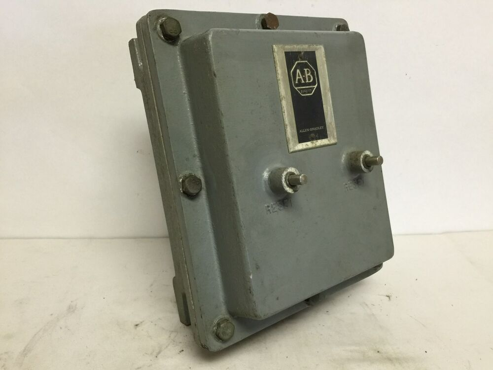 Allen bradley 709 aed explosion proof starter with 709 for Explosion proof motor starter
