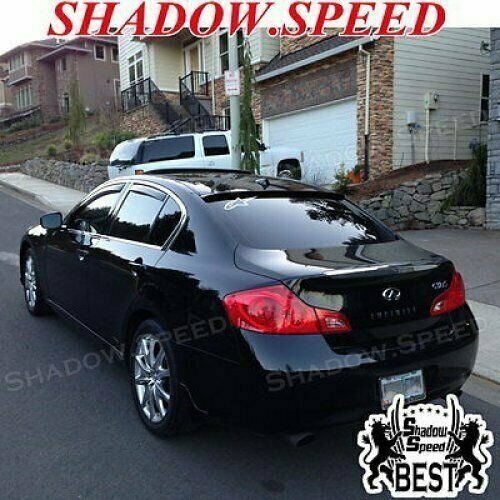Infiniti G37 S For Sale: Unpainted B Type Rear Roof Spoiler Wing For 2008~10