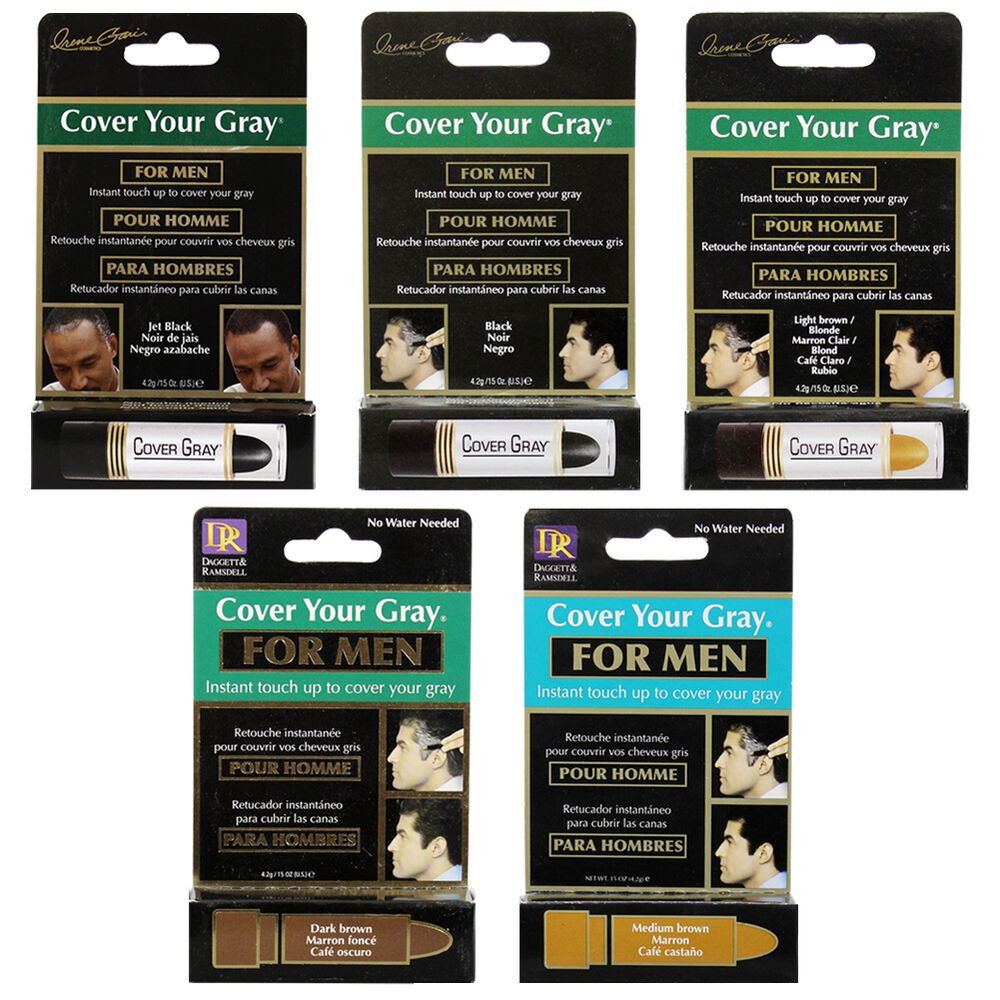 Cover Your Gray For Men Instant Touch Up Temporary Hair