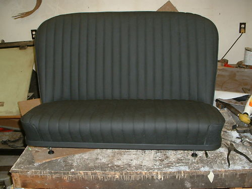 Hot Rod Rat Rod 32 Ford Bomber Bench Seat With Seat