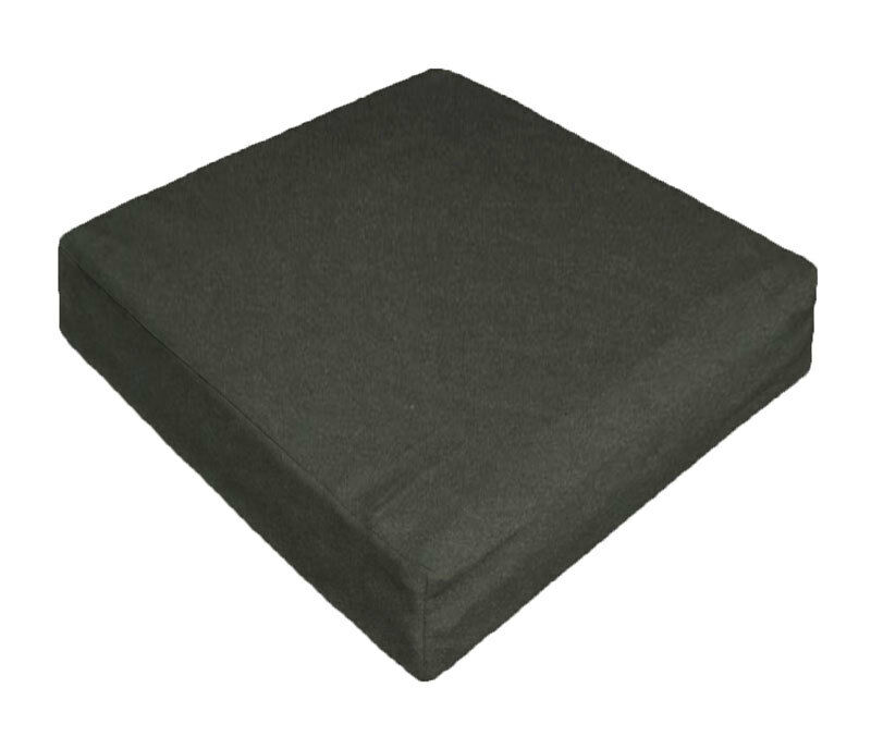 Ccc A47 Charcoal Canvas Bench Seat Sofa Cushion Cover
