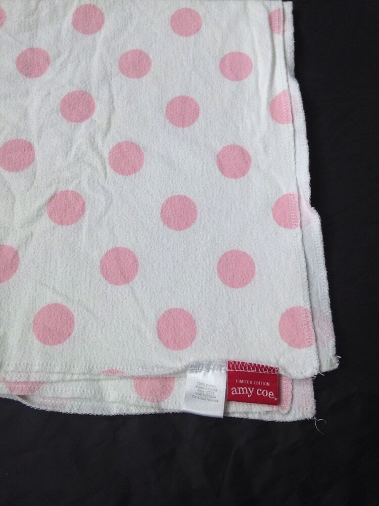 Amy Coe Limited Edition Baby Blanket Receiving Wrap White