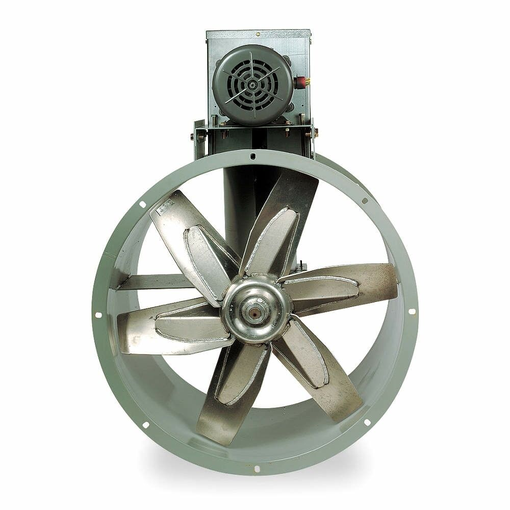Paint Booth Axial Exhaust Fans : Replacement quot tubeaxial fan motor kit for paint spray