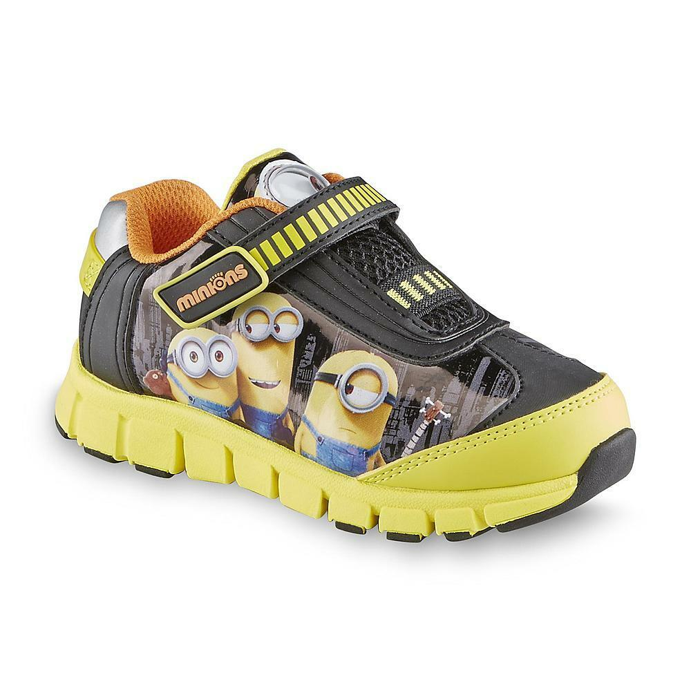 new despicable me minions athletic sneakers sz 7 8