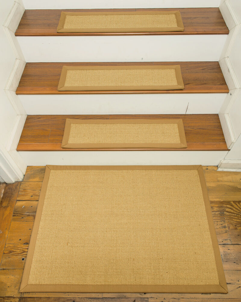 Monterrey 100 Sisal Carpet Stair Treads 9 X29 Set Of 13