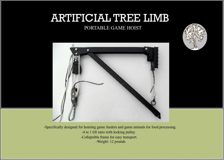 Portable Game Hoist Deer Hoist Feeder Hoist Artificial