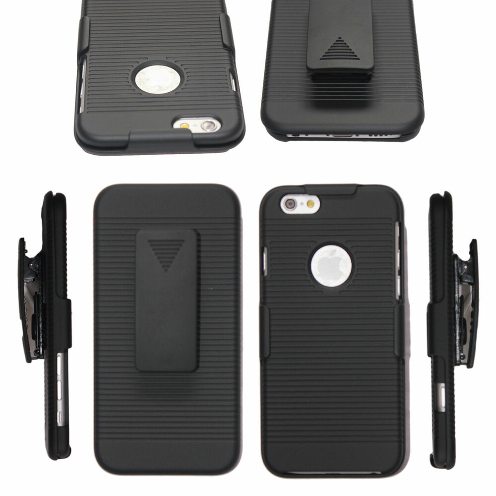 iphone case stand for iphone x 6 7 8 plus holster cover with belt clip 4791