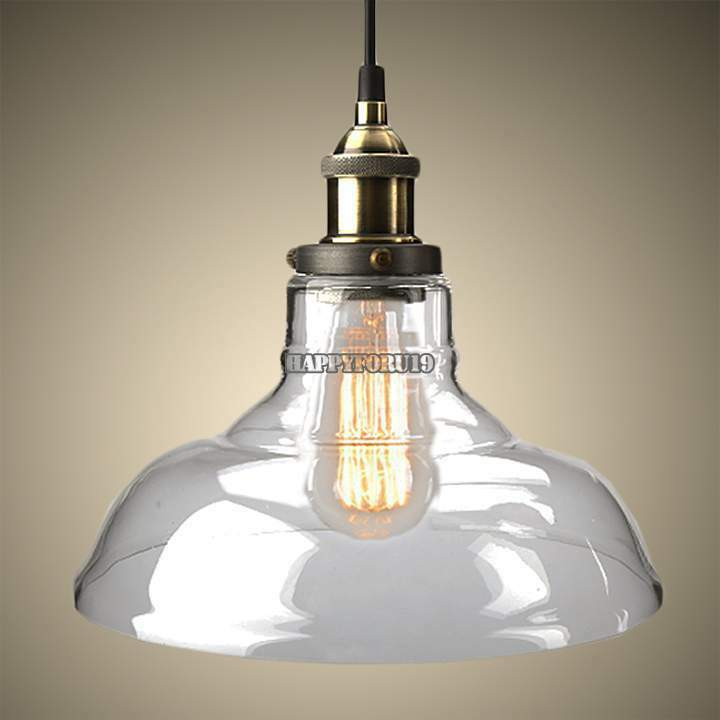 New diy led glass ceiling light vintage chandelier pendant for Diy edison light fixtures