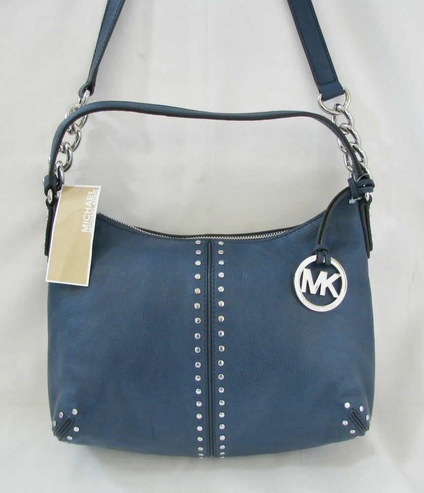 750f06a70c3170 Michael Kors Bag Navy Silver | Stanford Center for Opportunity ...
