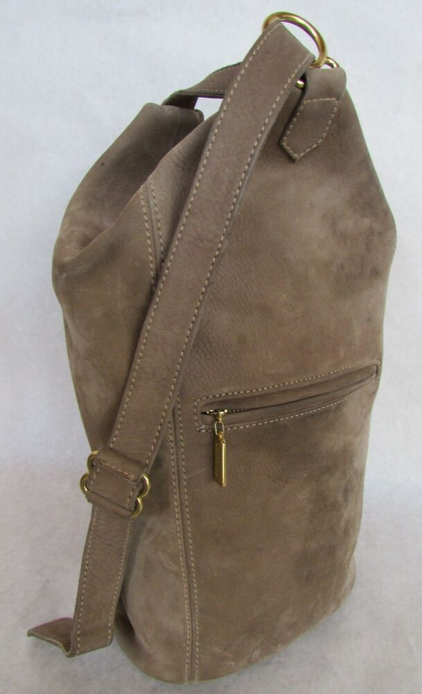 Authentic Vintage Coach Sonoma Flat Pack Sling Bag Taupe ...