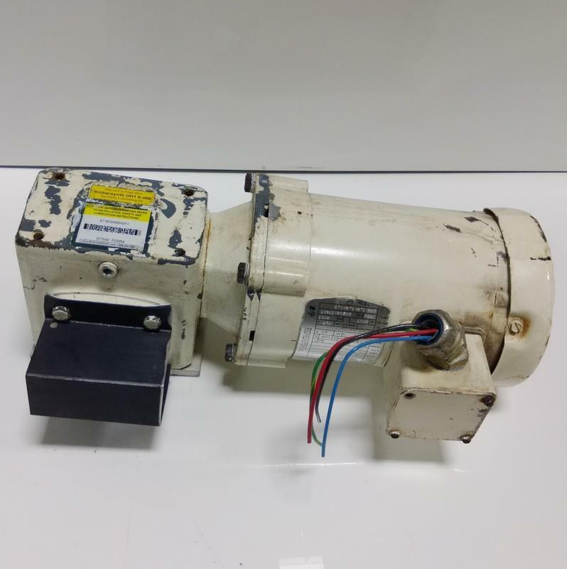 Boston Gear 1 2 Hp Electric Motor W Gear Reducer Fute B