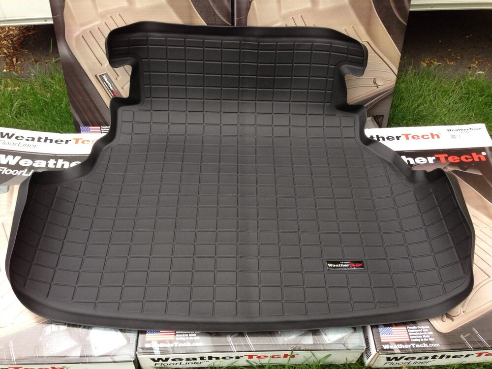 Weathertech Cargo Liner Trunk Mat For Honda Accord 2013 2015 Black 40581 Ebay