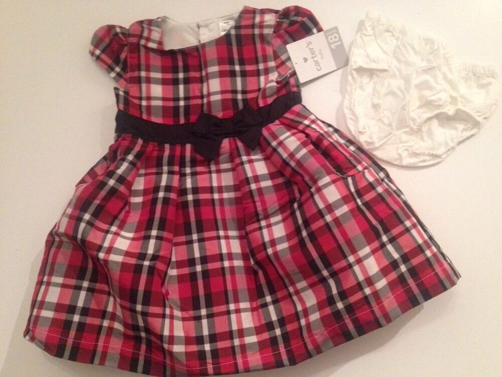 Carters Baby Girl Dress Fancy Wedding Holiday Size 18
