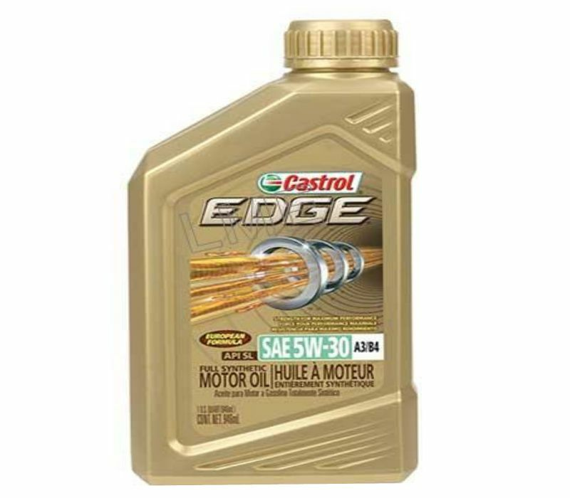 Engine motor oil 1 quart castrol edge sae 5w 30 synthetic for Quart of motor oil