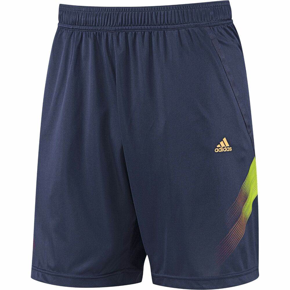 new mens adidas climalite samba training shorts navy. Black Bedroom Furniture Sets. Home Design Ideas