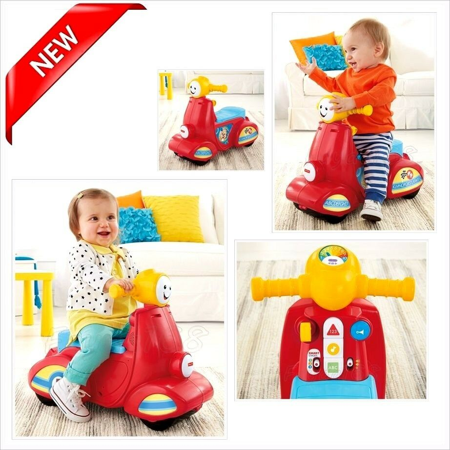 Scooter Toys Song Musical Kids Laugh Learn Baby ...
