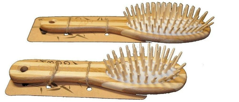 how to clean a bamboo hair brush
