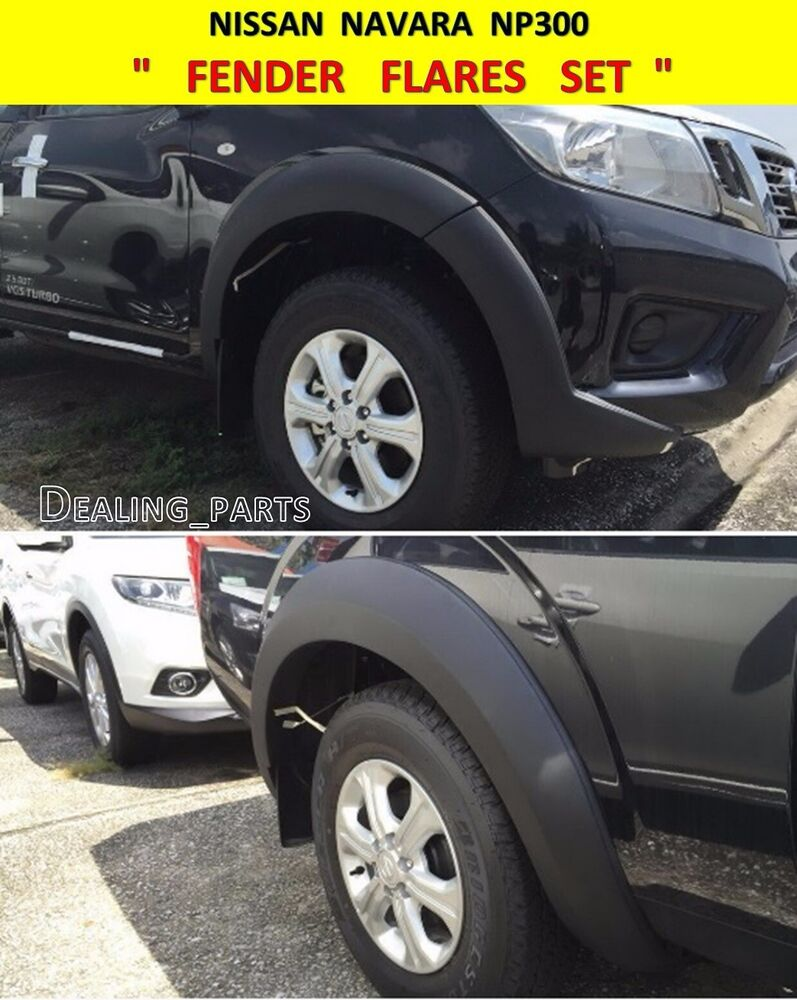 Fender Flares Painted For Nissan Frontier Navara Np300