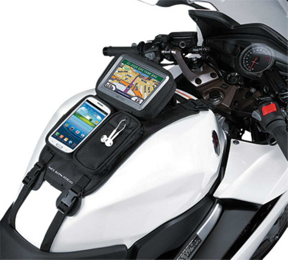 Universal motorcycle trike gps mate smart phone tank pouch - Porta smartphone per scooter ...