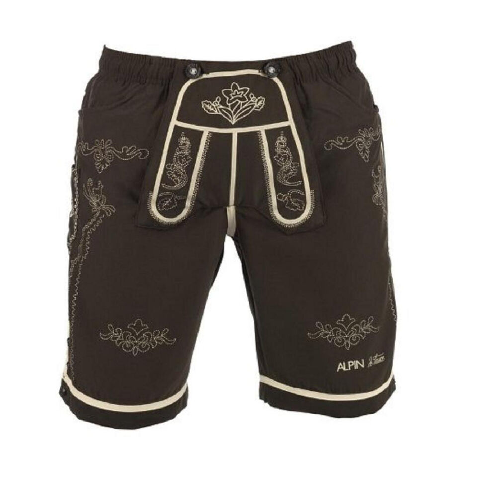 bayrische trachten herren badehose trachten shorts badeshorts lederhosen optik ebay. Black Bedroom Furniture Sets. Home Design Ideas