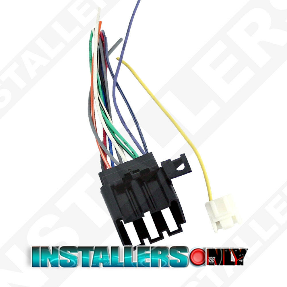 aftermarket radio wiring harness for ford gmc factory radio wire harness for aftermarket car amp aftermarket car stereo/radio wiring harness, gmc 1677 wire ...