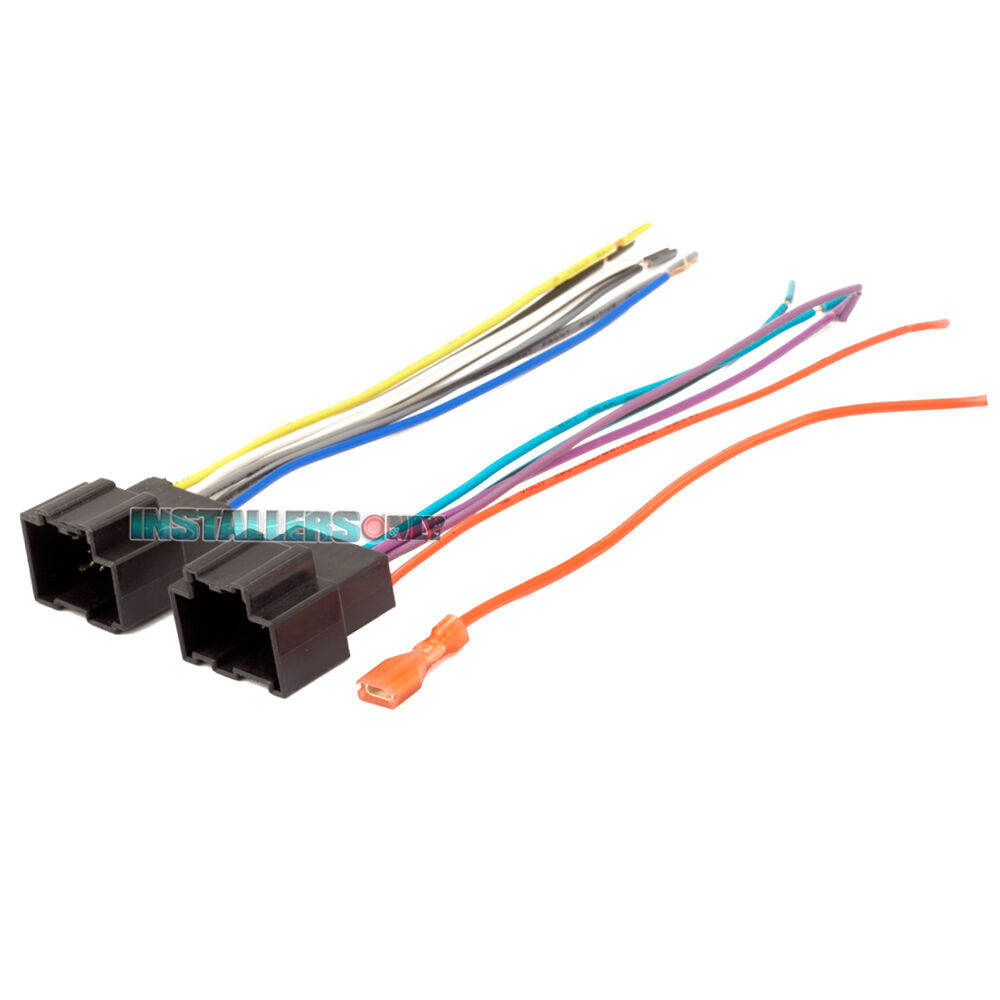 AFTERMARKET CAR STEREO/RADIO WIRING HARNESS, AVEO/G3 2105 WIRE ...