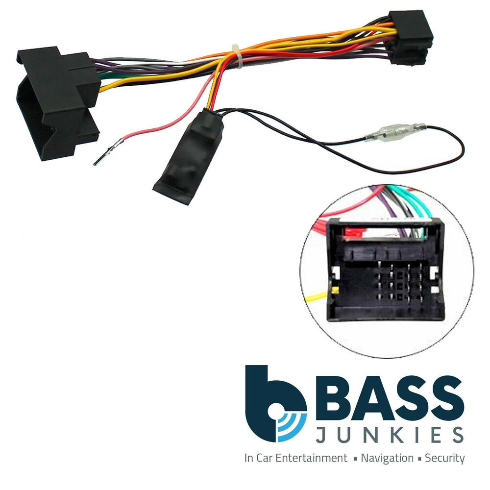 Vauxhall Astra Wiring Harness : Vauxhall opel astra h  car stereo igintion