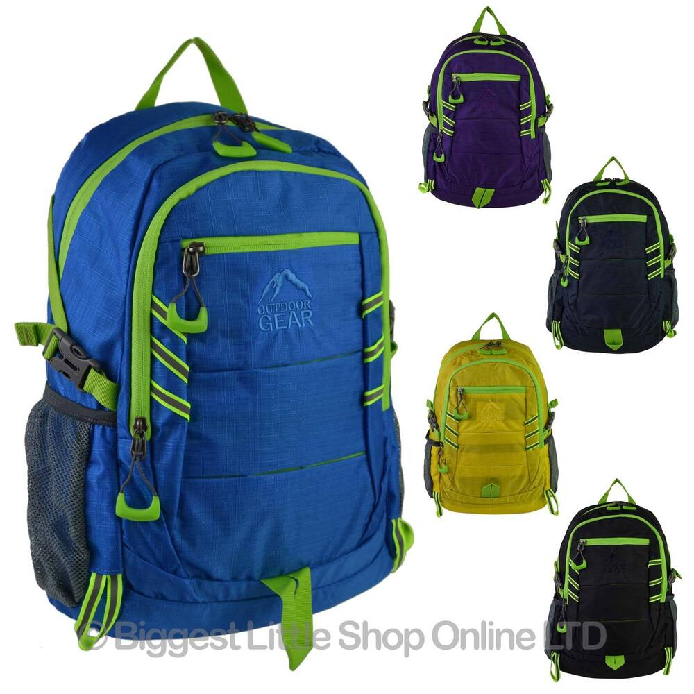 NEW Mens Ladies Hi Visibility BACKPACK RUCKSACK by Outdoor ...