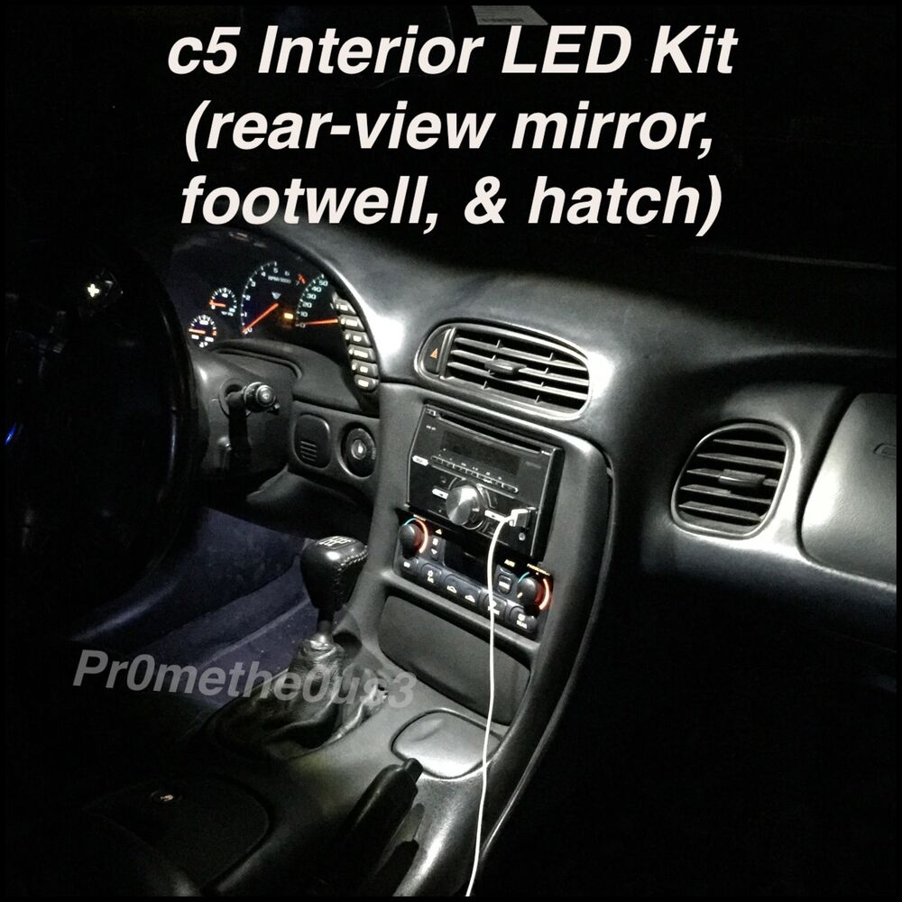 1995 Chevrolet Corvette Interior: 1997-2004 C5 Corvette Interior Plug-N-Play LED Kit